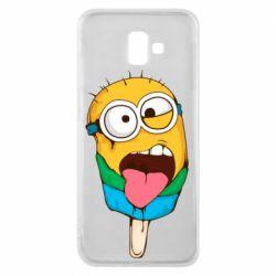 Чехол для Samsung J6 Plus 2018 Ice cream minions