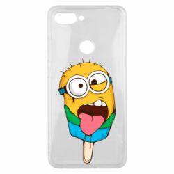 Чехол для Xiaomi Mi8 Lite Ice cream minions