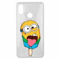Чехол для Xiaomi Mi Max 3 Ice cream minions
