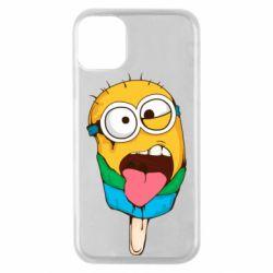 Чехол для iPhone 11 Pro Ice cream minions