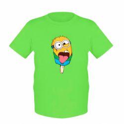 Детская футболка Ice cream minions
