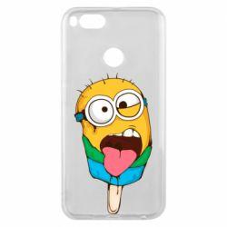Чехол для Xiaomi Mi A1 Ice cream minions