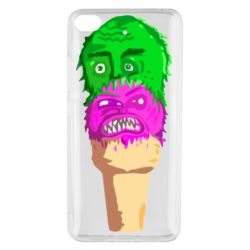 Чехол для Xiaomi Mi 5s Ice cream with face