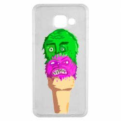 Чехол для Samsung A3 2016 Ice cream with face