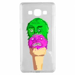 Чехол для Samsung A5 2015 Ice cream with face