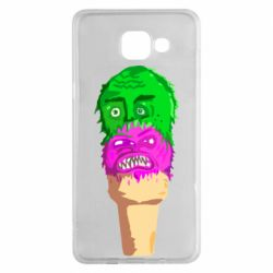 Чехол для Samsung A5 2016 Ice cream with face
