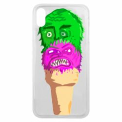Чехол для iPhone Xs Max Ice cream with face