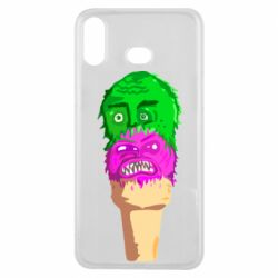 Чехол для Samsung A6s Ice cream with face