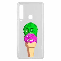 Чехол для Samsung A9 2018 Ice cream with face
