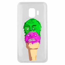 Чехол для Samsung J2 Core Ice cream with face