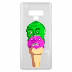 Чехол для Samsung Note 9 Ice cream with face