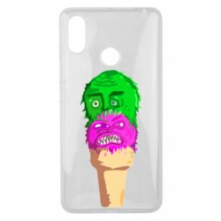Чехол для Xiaomi Mi Max 3 Ice cream with face