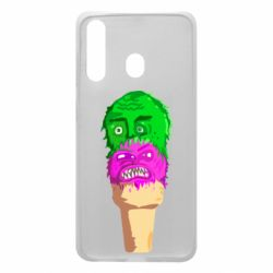 Чехол для Samsung A60 Ice cream with face