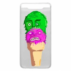 Чехол для Samsung A80 Ice cream with face