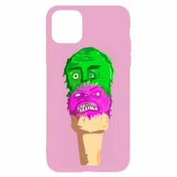 Чехол для iPhone 11 Pro Ice cream with face