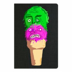 Блокнот А5 Ice cream with face