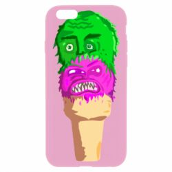 Чехол для iPhone 6/6S Ice cream with face