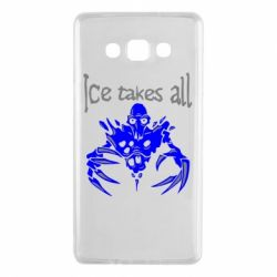 Чехол для Samsung A7 2015 Ice takes all Dota