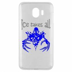 Чехол для Samsung J4 Ice takes all Dota