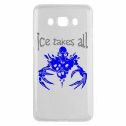 Чехол для Samsung J5 2016 Ice takes all Dota
