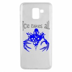 Чехол для Samsung J6 Ice takes all Dota