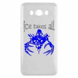 Чехол для Samsung J7 2016 Ice takes all Dota