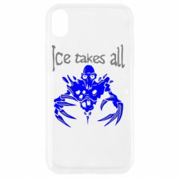 Чехол для iPhone XR Ice takes all Dota