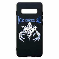 Чехол для Samsung S10+ Ice takes all Dota