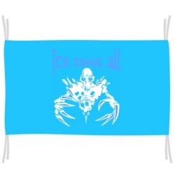 Флаг Ice takes all Dota