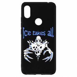 Чехол для Xiaomi Redmi S2 Ice takes all Dota