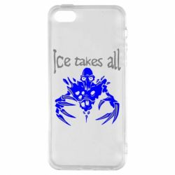 Чехол для iPhone5/5S/SE Ice takes all Dota