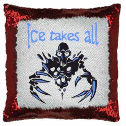 Подушка-хамелеон Ice takes all Dota