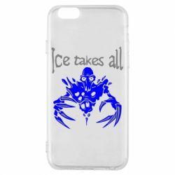 Чехол для iPhone 6/6S Ice takes all Dota