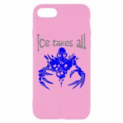 Чехол для iPhone 7 Ice takes all Dota