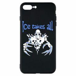 Чехол для iPhone 8 Plus Ice takes all Dota