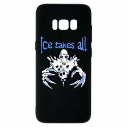 Чехол для Samsung S8 Ice takes all Dota