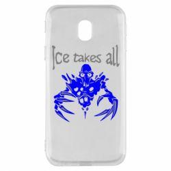 Чехол для Samsung J3 2017 Ice takes all Dota