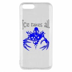 Чехол для Xiaomi Mi6 Ice takes all Dota