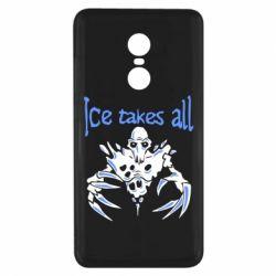 Чехол для Xiaomi Redmi Note 4x Ice takes all Dota