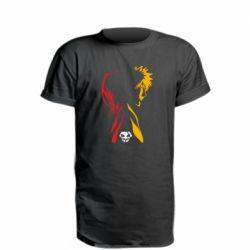 Удлиненная футболка Ichigo and Rukia