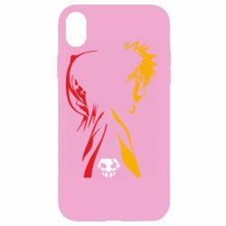 Чехол для iPhone XR Ichigo and Rukia