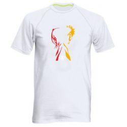 Мужская спортивная футболка Ichigo and Rukia