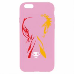 Чехол для iPhone 6 Plus/6S Plus Ichigo and Rukia