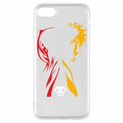 Чехол для iPhone 7 Ichigo and Rukia
