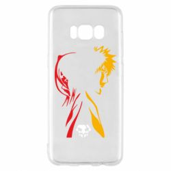 Чехол для Samsung S8 Ichigo and Rukia
