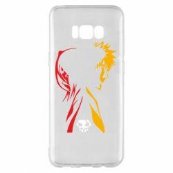 Чехол для Samsung S8+ Ichigo and Rukia