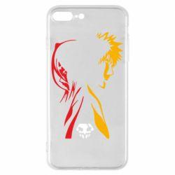 Чехол для iPhone 8 Plus Ichigo and Rukia