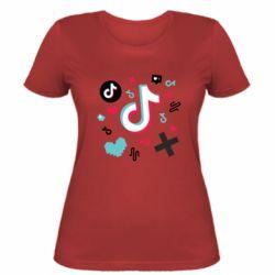 Жіноча футболка Icons TIK TOK