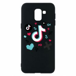 Чохол для Samsung J6 Icons TIK TOK