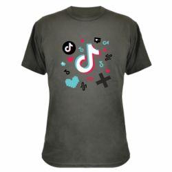 Камуфляжна футболка Icons TIK TOK
